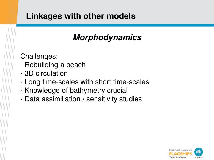 Linkages with other models