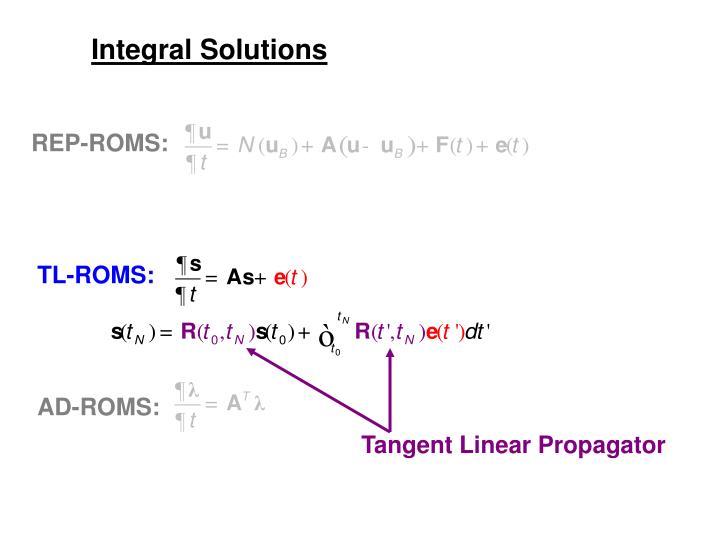 Integral Solutions