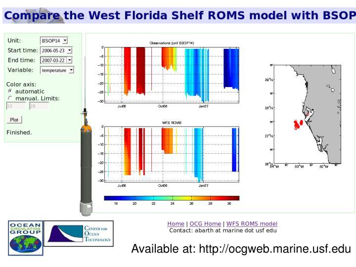 Available at: http://ocgweb.marine.usf.edu