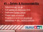 1 safety accountability