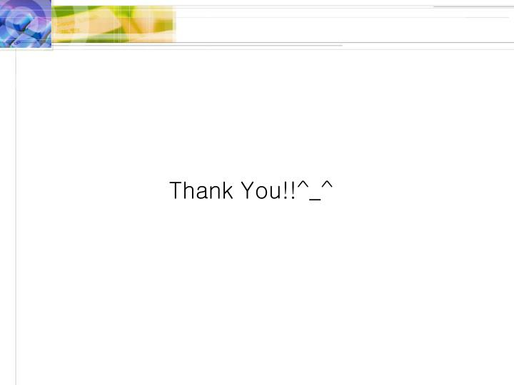 Thank You!!^_^