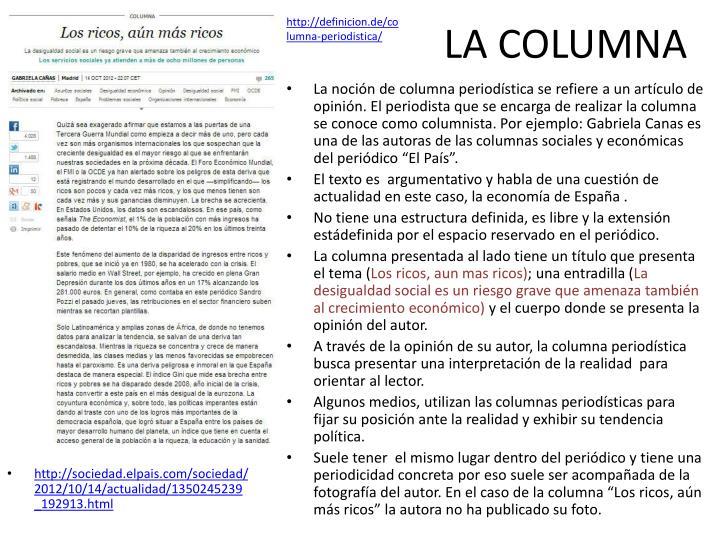 http://definicion.de/columna-periodistica/