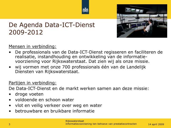 De Agenda Data-ICT-Dienst