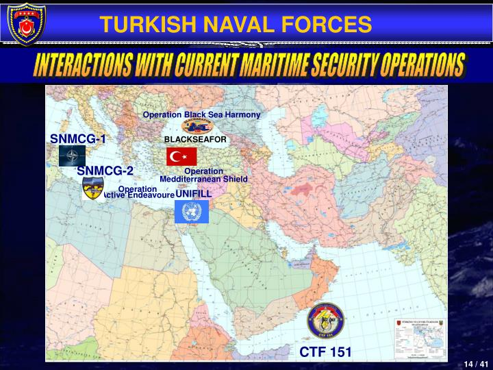 INTERACTIONS WITH CURRENT MARITIME SECURITY OPERATIONS