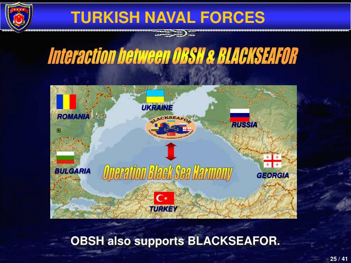 Interaction between OBSH & BLACKSEAFOR
