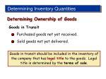 determining inventory quantities2