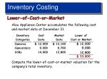 inventory costing2