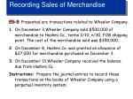 recording sales of merchandise2