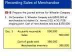 recording sales of merchandise3
