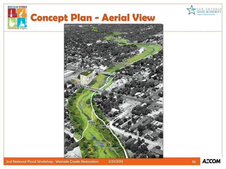 Concept Plan - Aerial View
