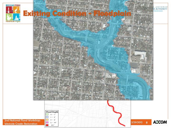 Existing Condition - Floodplain