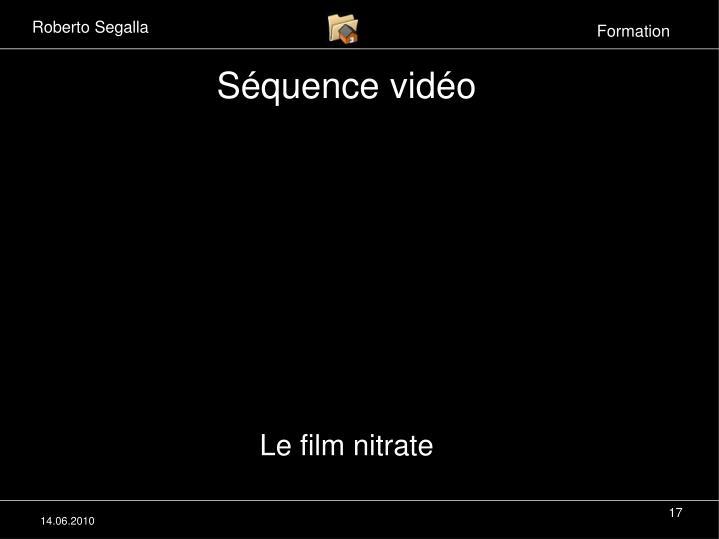 Le film nitrate