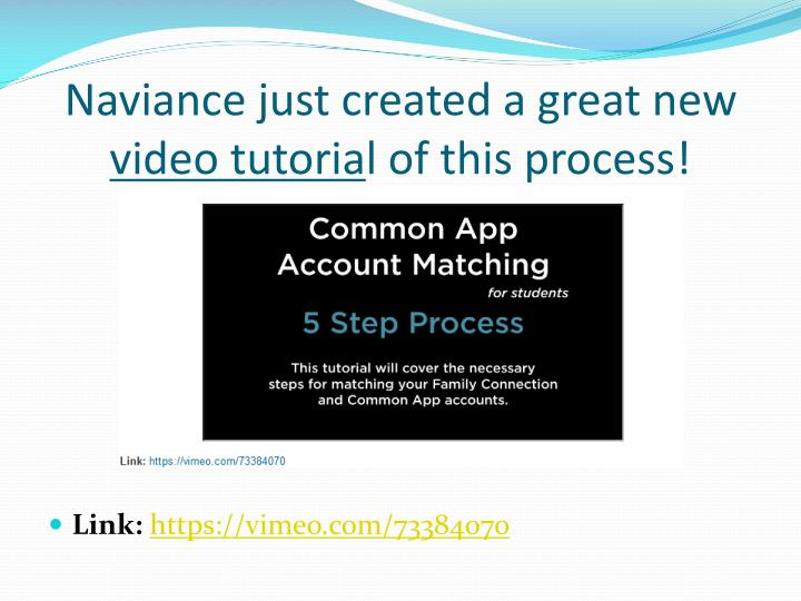 Naviance just created a great new