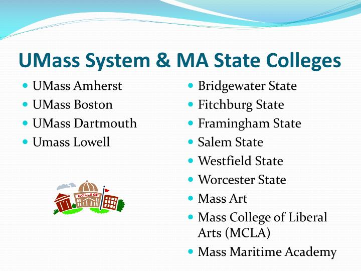 UMass System & MA State Colleges