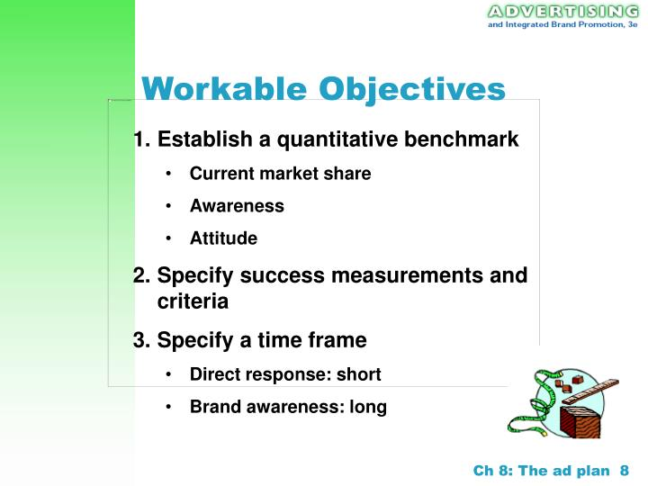 Workable Objectives