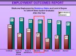 employment outcomes report