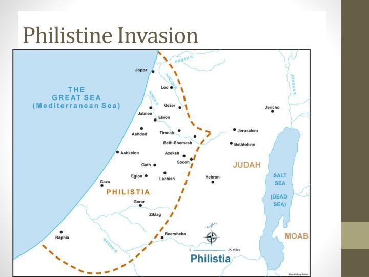 Philistine invasion