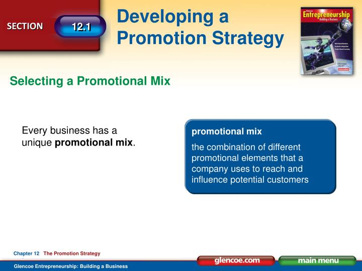 Selecting a Promotional Mix