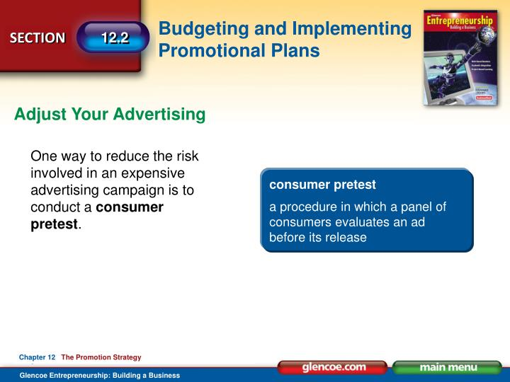 Adjust Your Advertising