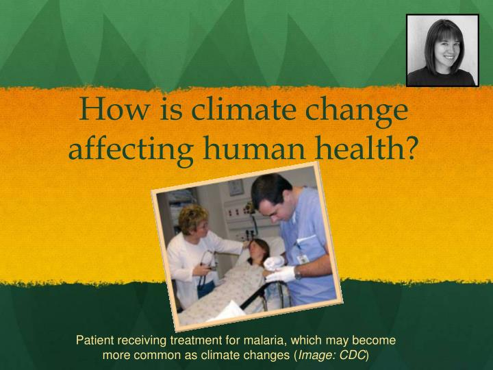How is climate change affecting human health?