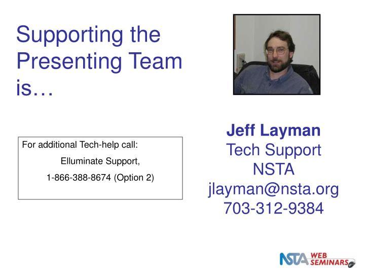 NSTA WS Staff
