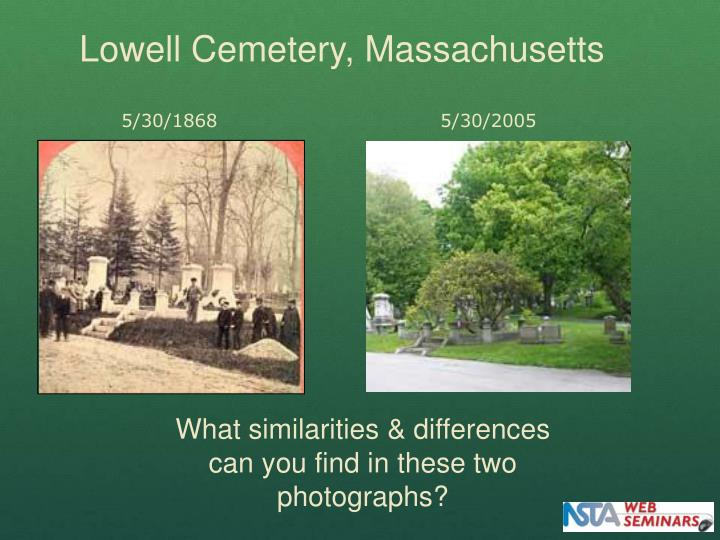 Lowell Cemetery, Massachusetts