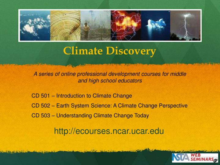 Climate Discovery