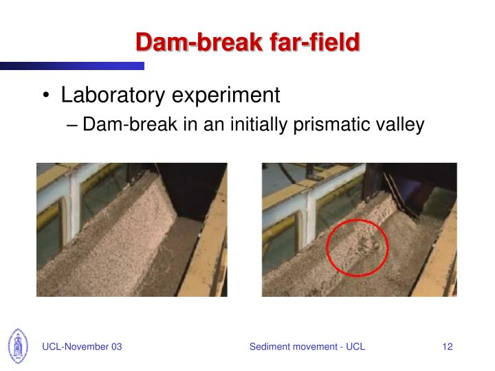 Dam-break far-field
