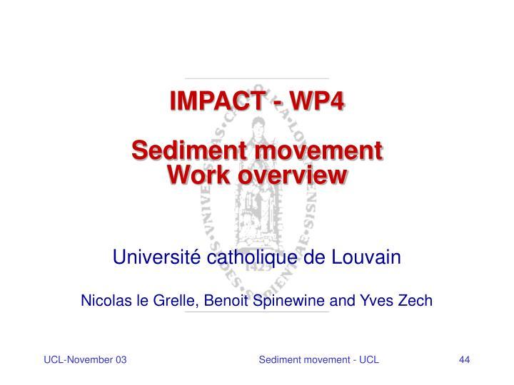 IMPACT - WP4