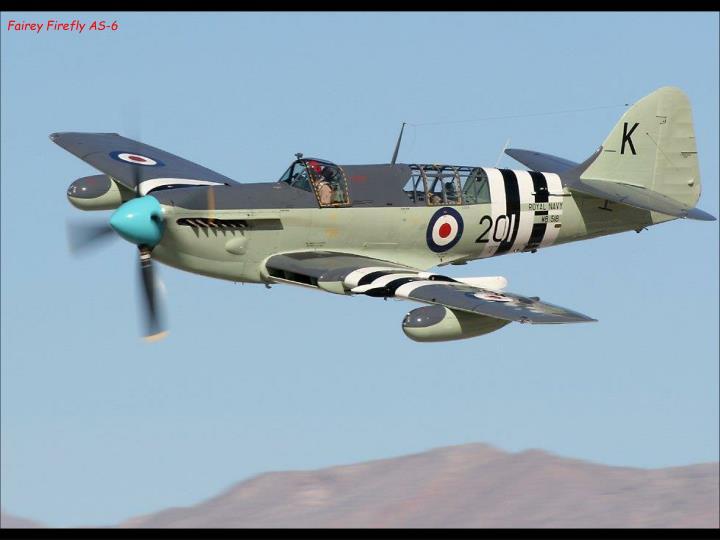 Fairey Firefly AS-6