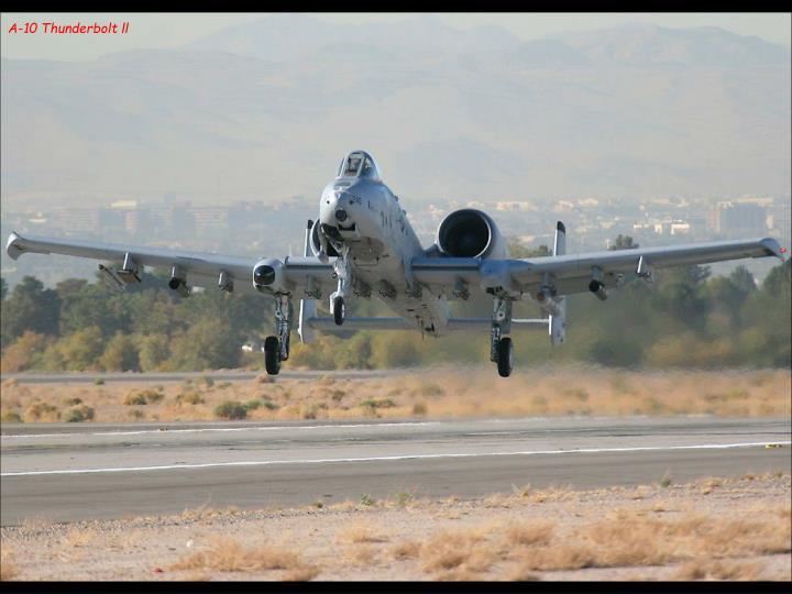 A-10 Thunderbolt ll