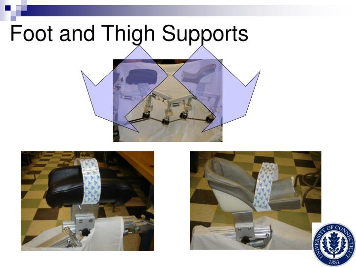 Foot and Thigh Supports