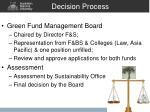decision process
