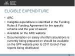eligible expenditure3