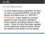 q fund statements1