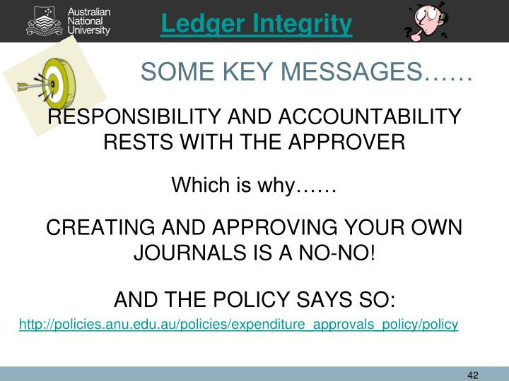 Ledger Integrity