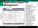 application based file management1