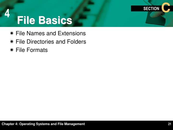File Basics