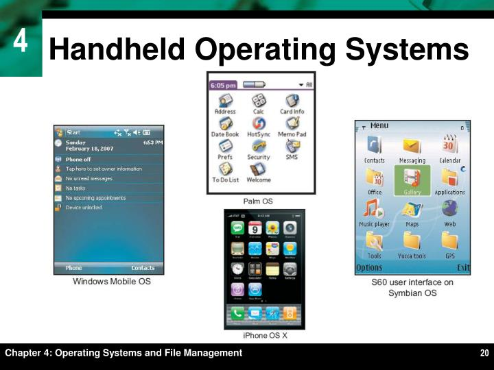 Handheld Operating Systems