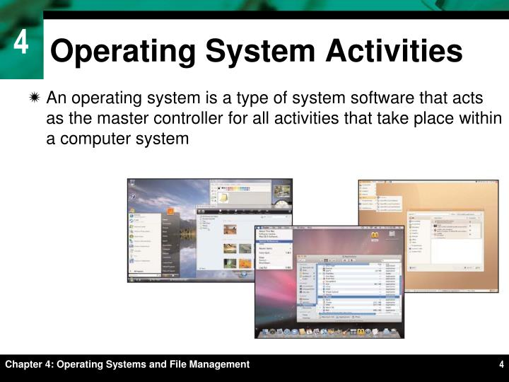 Operating System Activities