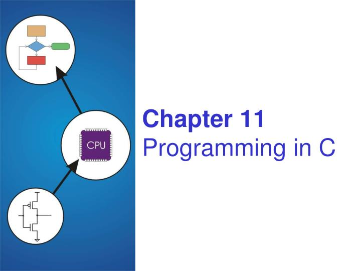 Chapter 11 programming in c