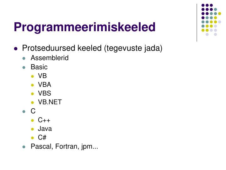 Programmeerimiskeeled