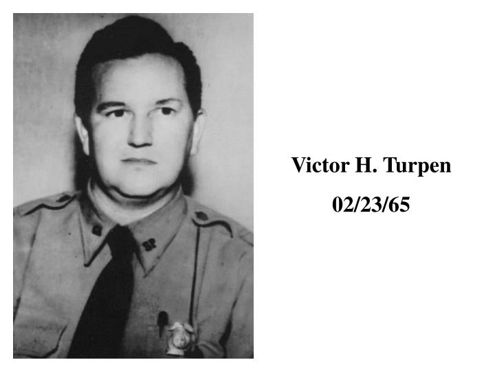Victor H. Turpen
