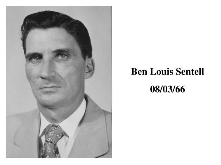Ben Louis Sentell