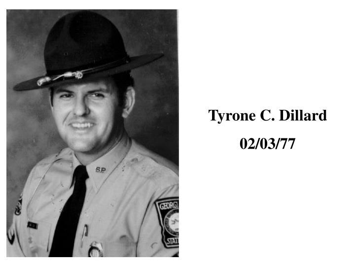 Tyrone C. Dillard