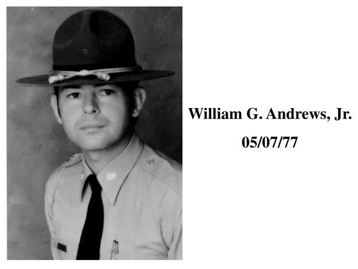 William G. Andrews, Jr.