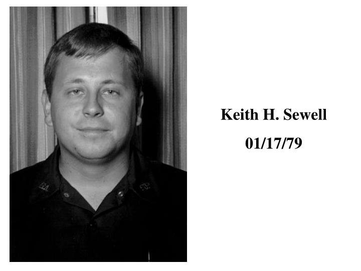 Keith H. Sewell