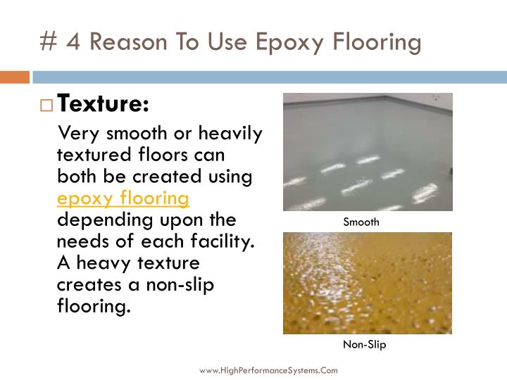 # 4 Reason To Use Epoxy Flooring