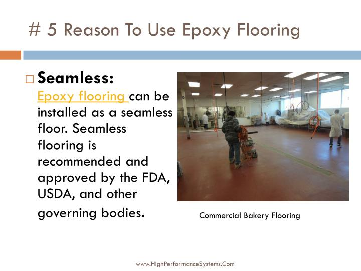 # 5 Reason To Use Epoxy Flooring