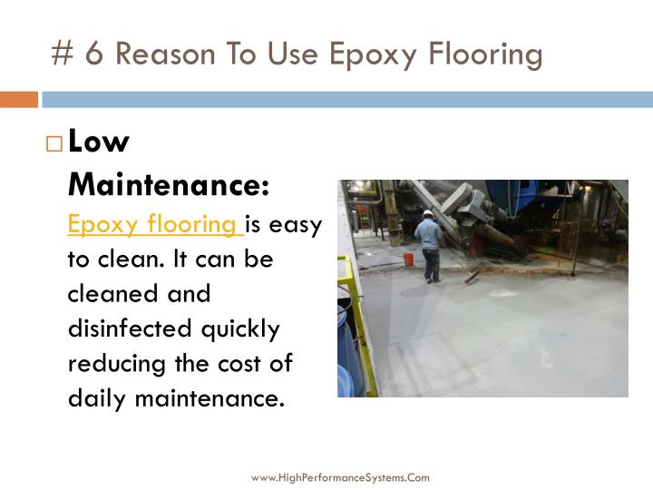 # 6 Reason To Use Epoxy Flooring